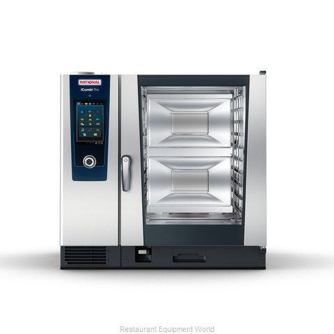 Rational ICP 10-FULL E 208/240V 3 PH QS Combi Oven, Electric
