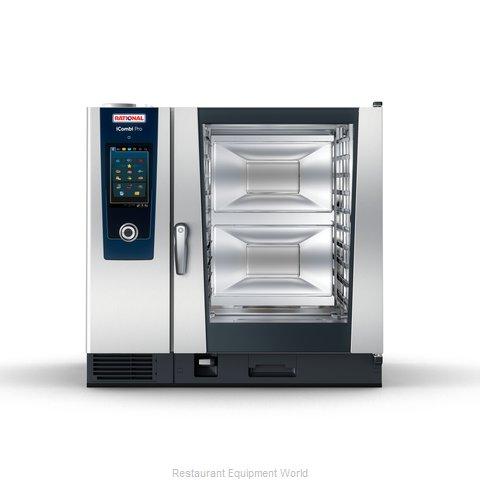 Rational ICP 10-FULL E 480V 3 PH QS Combi Oven, Electric