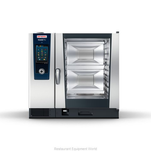 Rational ICP 10-FULL NG 208/240V 1 PH QS Combi Oven, Gas
