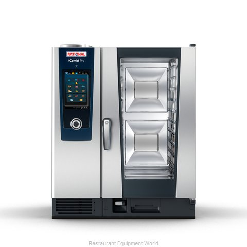 Rational ICP 10-HALF E 480V 3 PH (LM100DE) Combi Oven, Electric (Magnified)