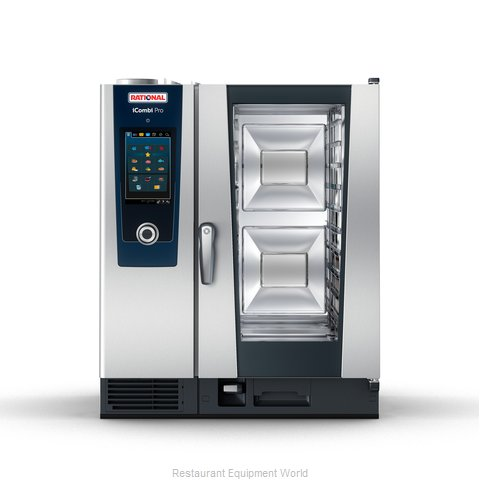 Rational ICP 10-HALF NG 120V 1 PH QS Combi Oven, Gas