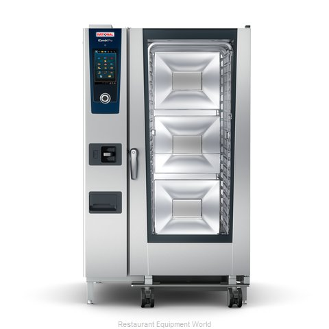 Rational ICP 20-FULL NG 208/240V 1 PH (LM100GG) Combi Oven, Gas