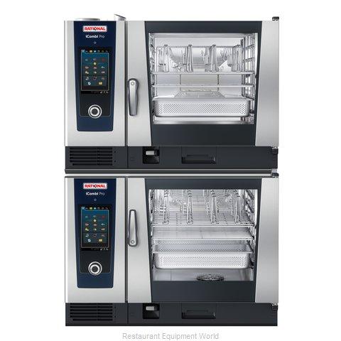 Rational ICP 6-FULL/6-FULL E 208/240V 3 PH Combi Oven, Electric