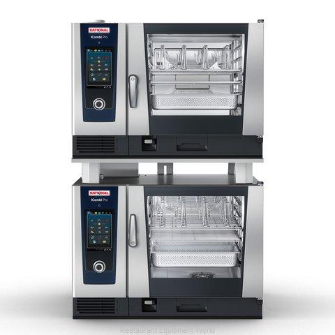 Rational ICP 6-FULL/6-FULL LP 208/240V 1 PH Combi Oven, Gas