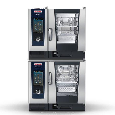 Rational ICP 6-HALF/6-HALF E 208/240V 1 PH Combi Oven, Electric