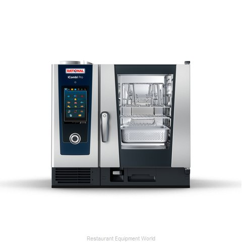 Rational ICP 6-HALF E 208/240V 1 PH QS Combi Oven, Electric