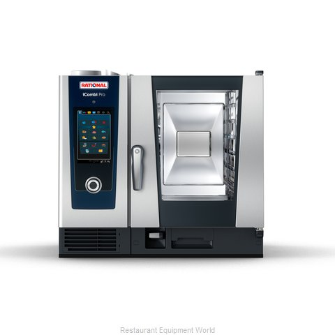 Rational ICP 6-HALF LP 208/240V 1 PH (LM100BG) Combi Oven, Gas