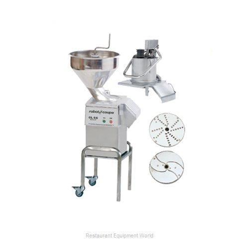 Robot Coupe CL55E2HEAD NODISC Food Processor, Floor Model