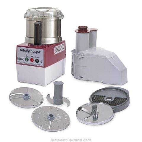 Robot Coupe R2UDICE Food Processor, Benchtop / Countertop