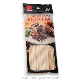 Royal Industries BAM 6 Skewers, Bamboo