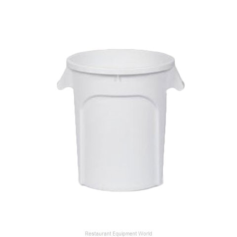 Royal Industries DIN 440101 Trash Garbage Waste Container Stationary