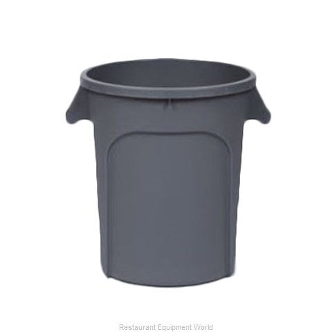 Royal Industries DIN 440103 Trash Garbage Waste Container Stationary
