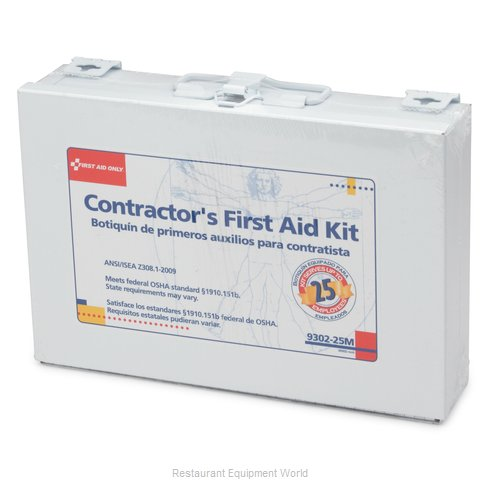 Royal Industries FAK 25 M First Aid Supplies (Magnified)