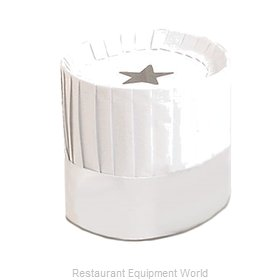 Royal Industries PPR HAT 12 Disposable Chef's Hat