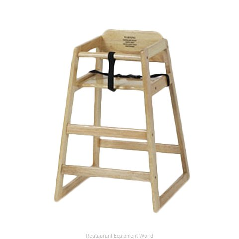 Royal Industries ROY 700 N High Chair, Wood (Magnified)