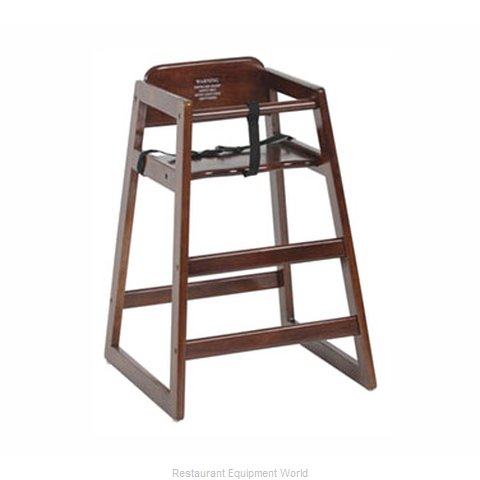 Royal Industries ROY 702 W High Chair Wood