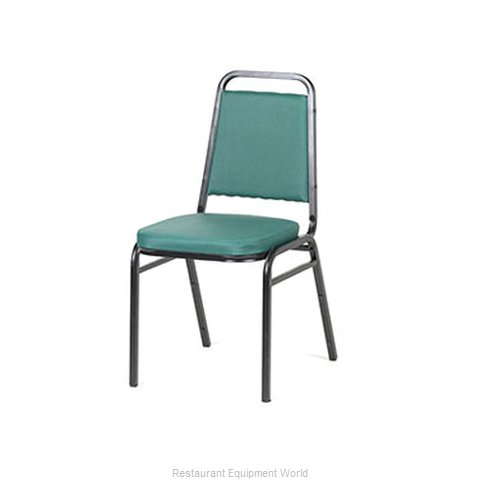 Royal Industries ROY 718 GN Chair Side Stacking Indoor