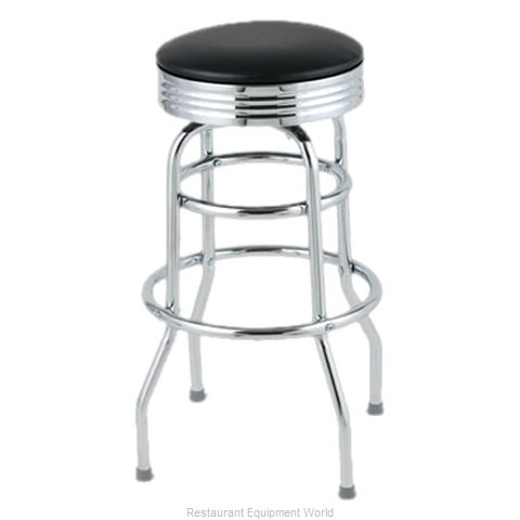 Royal Industries ROY 7710-2 B Bar Stool Swivel Indoor