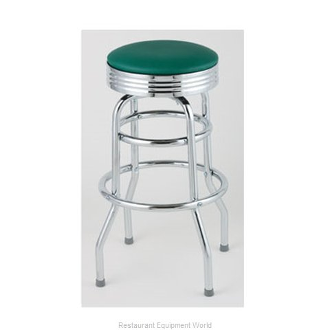 Royal Industries ROY 7710 GN Bar Stool Swivel Indoor