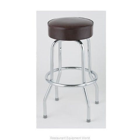 Royal Industries ROY 7711-2 BRN Bar Stool Swivel Indoor