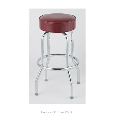 Royal Industries ROY 7711-2 CRM Bar Stool Swivel Indoor