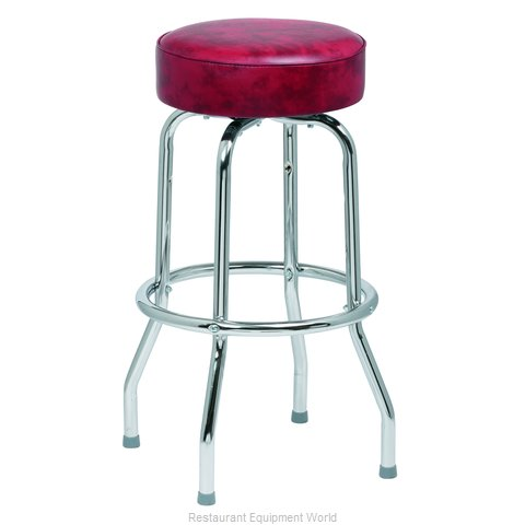 Royal Industries ROY 7711 CRM Bar Stool Swivel Indoor