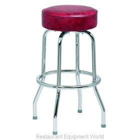 Royal Industries ROY 7711 CRM Bar Stool, Swivel, Indoor