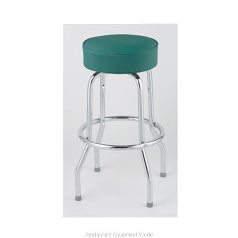 Royal Industries ROY 7711 GN Bar Stool Swivel Indoor