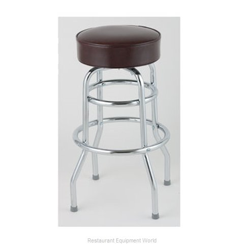 Royal Industries ROY 7712-2 BRN Bar Stool Swivel Indoor (Magnified)