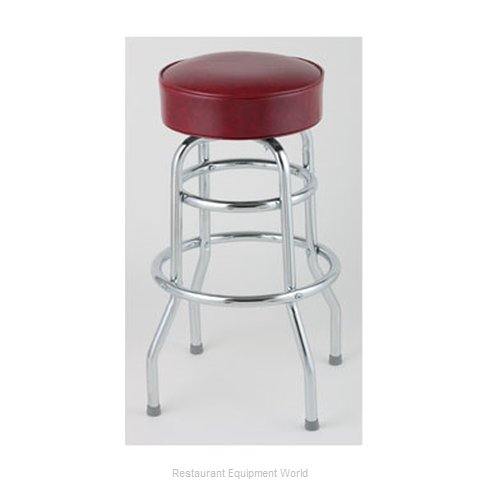 Royal Industries ROY 7712-2 CRM Bar Stool Swivel Indoor