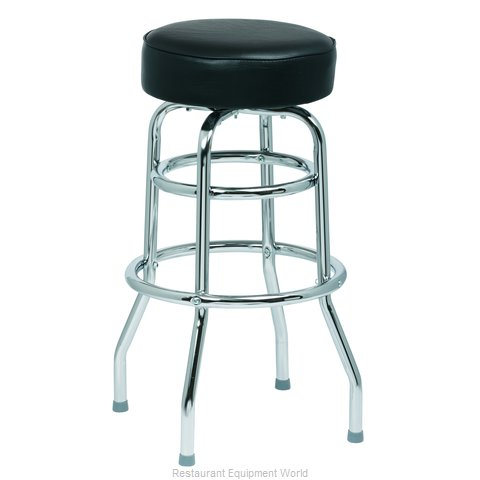 Royal Industries ROY 7712 B Bar Stool, Swivel, Indoor (Magnified)