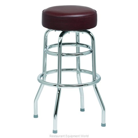 Royal Industries ROY 7712 BRN Bar Stool Swivel Indoor
