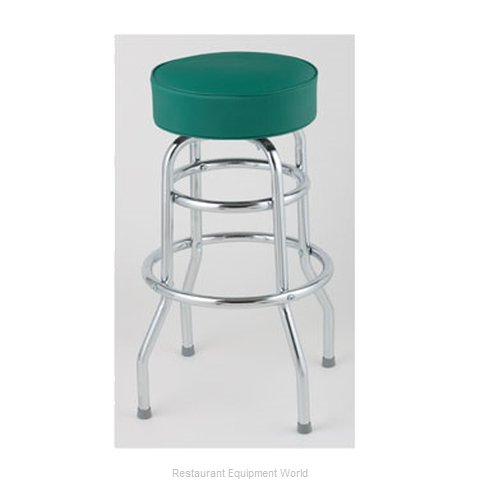 Royal Industries ROY 7712 GN Bar Stool Swivel Indoor