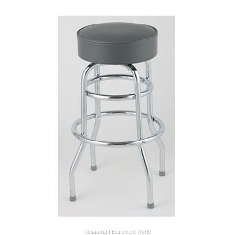 Royal Industries ROY 7712 GY Bar Stool Swivel Indoor