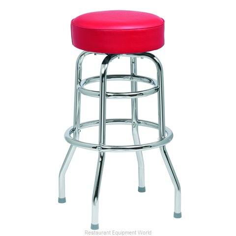 Royal Industries ROY 7712 R Bar Stool, Swivel, Indoor (Magnified)