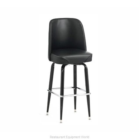 Royal Industries ROY 7714-1 BRN Bar Stool Swivel Indoor
