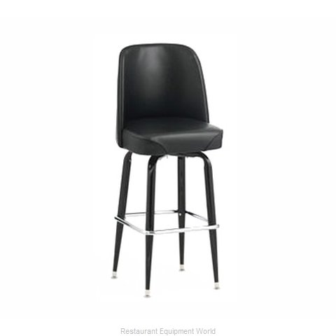 Royal Industries ROY 7714-1 GN Bar Stool Swivel Indoor
