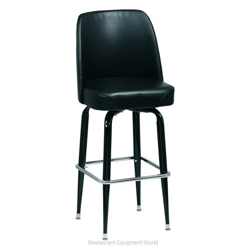 Royal Industries ROY 7714 B Bar Stool, Swivel, Indoor (Magnified)