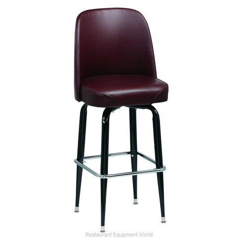 Royal Industries ROY 7714 BRN Bar Stool, Swivel, Indoor (Magnified)