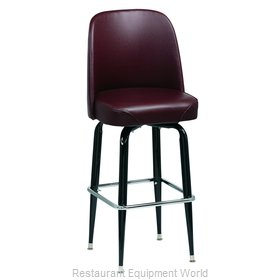 Royal Industries ROY 7714 BRN Bar Stool, Swivel, Indoor