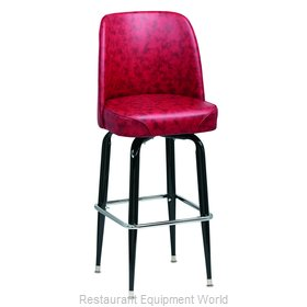 Royal Industries ROY 7714 CRM Bar Stool Swivel Indoor
