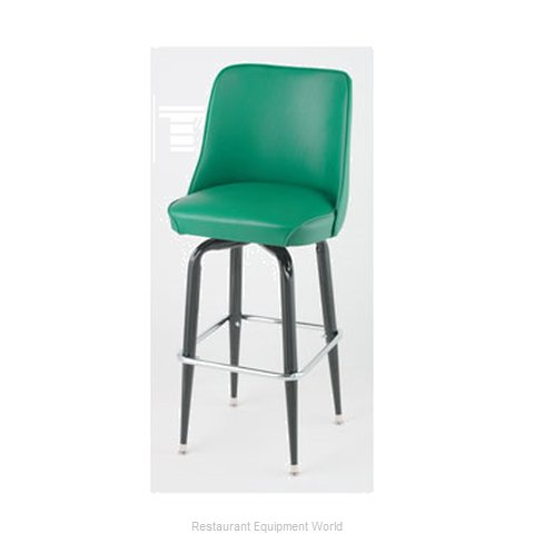 Royal Industries ROY 7714 GN Bar Stool Swivel Indoor