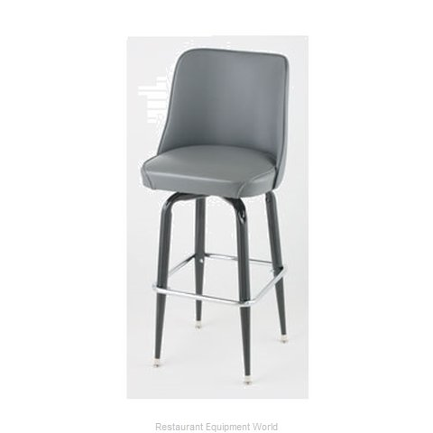 Royal Industries ROY 7714 GY Bar Stool Swivel Indoor
