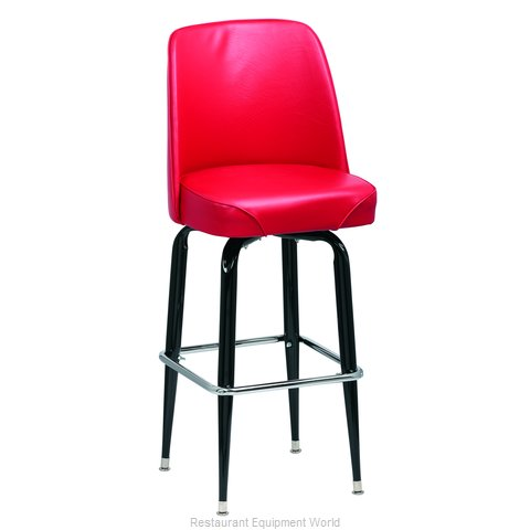 Royal Industries ROY 7714 R Bar Stool, Swivel, Indoor (Magnified)