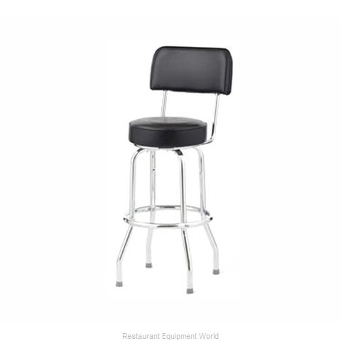 Royal Industries ROY 7715 CRM Bar Stool Swivel Indoor (Magnified)