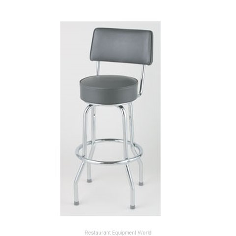 Royal Industries ROY 7715 GY Bar Stool Swivel Indoor