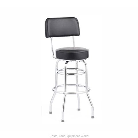 Royal Industries ROY 7716 CRM Bar Stool Swivel Indoor (Magnified)