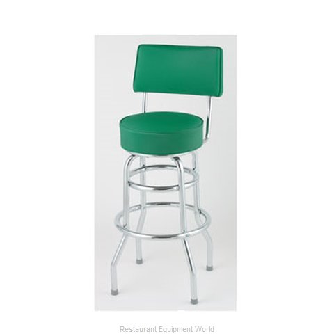 Royal Industries ROY 7716 GN Bar Stool Swivel Indoor