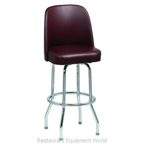 Royal Industries ROY 7721 BRN Bar Stool Swivel Indoor