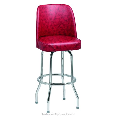Royal Industries ROY 7721 CRM Bar Stool Swivel Indoor (Magnified)
